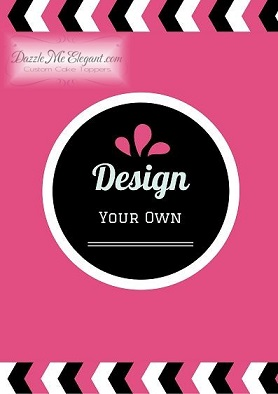 Design Your Own Photo Cake : Design Your Own Cake Topper