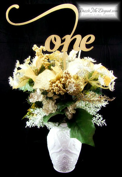 Elegant Script Table Numbers-Reception Decor-Wedding Decorations