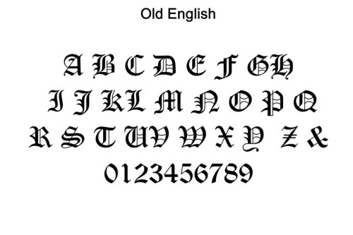 Free Old English Text MT Fonts