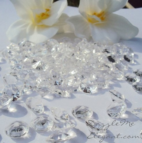 Diamond Crystal Confetti 4 CARAT (10MM) Large