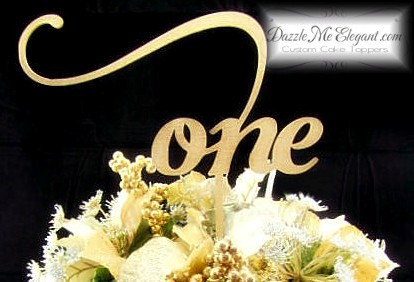 Elegant Script Table Numbers, Wedding Reception Numbers