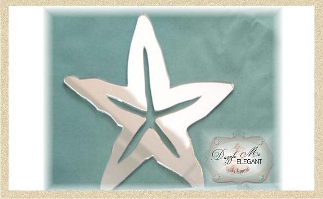 Star Fish Cake Topper