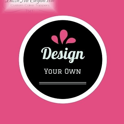 Design Your Own Cake Stencil : Mini Cupcake Topper